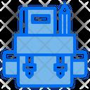 Backpack School Study Icon