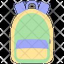 School Bag Rucksack Icon