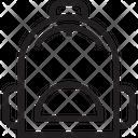 Bag School Bag Backpack Icon