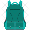 Backpack Bag Class Icon
