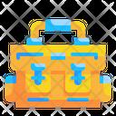 School Bag Bag Briefcase Icon
