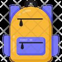 Backpack Knapsack Rucksack Icon