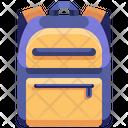 School Bag Backpack Bag Icon