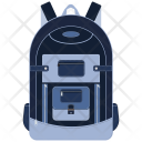 Backpack Bag Education Icon