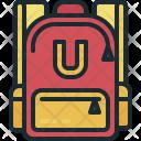 School Bag Education Icon