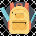 School Bag Backpack Icon