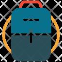 School Bag Bookbag Icon