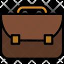 Briefcase Education Bag Icon