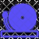 School Bell Alarm Ring Icon