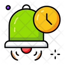 School Bell Time Icon