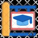 Sign Board School Education Icon