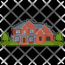 School Building House Villa Icon