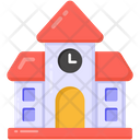 College Building School Building Learning Institute Icon