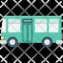 School Bus Public Icon