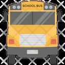 School Bus Transport Travel Icon