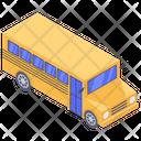 School Bus Student Bus Mini Bus Icon