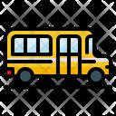 School Bus Omnibus Icon