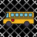School Bus School Transport School Transportation Icon