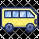 School Bus Van School Conveyance Icon