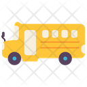 School Bus Van Icon