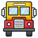 School Bus Bus Local Transport Icon