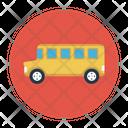 School Bus Vehicle Icon