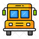 Bus Education School Icon