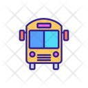 Public Transport Bus Icon