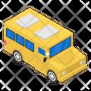 School Bus School Transport Omnibus Icon