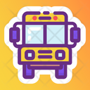 Bus Coach School Bus Icon