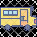 Van Transport School Icon