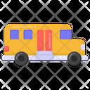 School Bus Local Transport Public Transport Icon