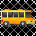 School Transport School Vehicle School Van Icon