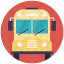Transport Students School Icon