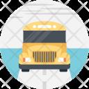 Passengers Bus School Icon