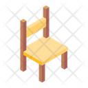 School Chair Dining Chair Furniture Icon