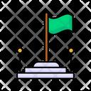 School Flag Icon