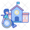 School For Disabled Icon