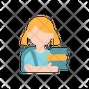 School Girl Student Girl Icon