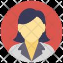 Schoolgirl Girl Student Icon