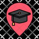 School Location Pointer Icon
