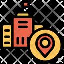 Location Pointer School Pointer Icon