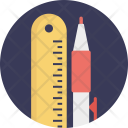 School Stationery Icon