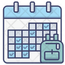 School Time Table Icon