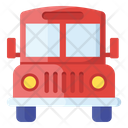 School Transport School Van Conveyance Icon