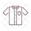 School Uniform School Shirt Shirt Icon