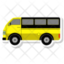 Bus Transport Vehicle Icon
