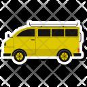 Van Bus School Icon