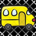 School Bus Bus Public Transport Icon
