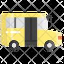 School Van Vehicle Bus Icon
